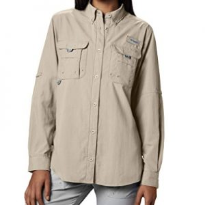 Columbia Women's PFG Bahama II Long Sleeve Breathable Fishing Shirt