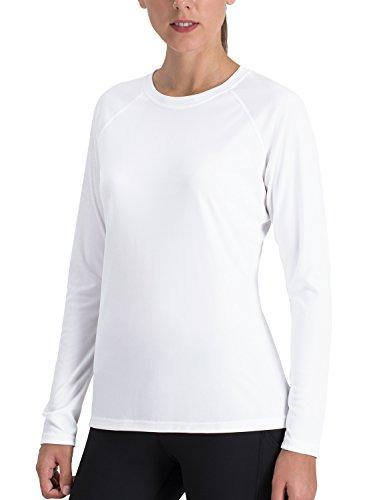 NAVISKIN Women's Sun Protection UPF 50+ UV Outdoor Long Sleeve T-Shirt