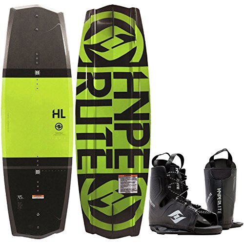 Hyperlite State 2.0 Wakeboard + Frequency Bindings Mens One Size 8-12