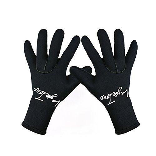 Premium Neoprene 3mm Wetsuit Gloves Five Finger