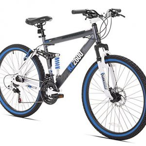 Kent KZ2600 Dual-Suspension Mountain Bike, 26-Inch