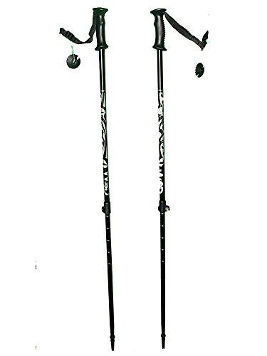 WSD Telescopic Adjustable Collapsible Alpine Ski Poles