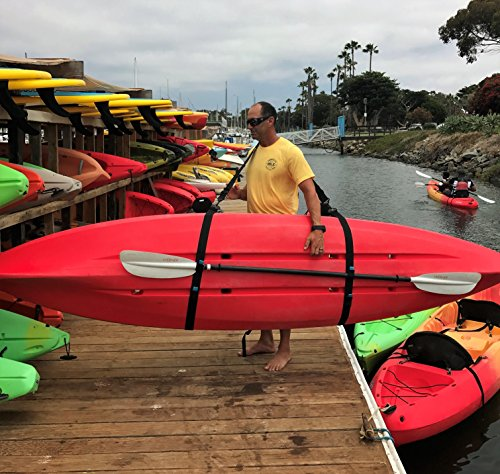 SUP Sling Kayak, Canoe and SUP Big Board Schlepper strap carrier