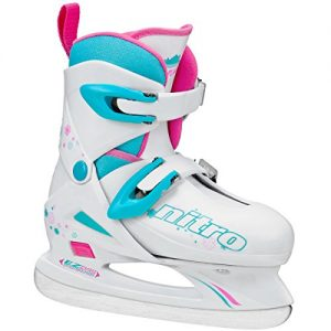 Lake Placid Girls Nitro 8.8 Adjustable Figure Ice Skate