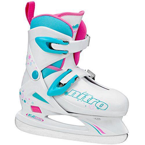 Lake Placid Girls Nitro 8.8 Adjustable Figure Ice Skate