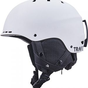 Traverse Vigilis 2-in-1 Convertible Ski & Snowboard/Bike & Skate Helmet with Mini Visor