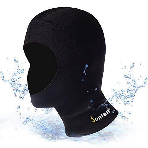 Neoprene Diving Hood Full Face Mask
