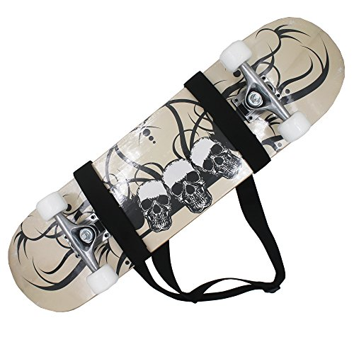 Universal Skateboard Shoulder Carrier Skateboard Carry Strap Skateboard Shoulder Strap Skateboard Carry Shoulder - Fit All Boards! Put into Your Pocket!