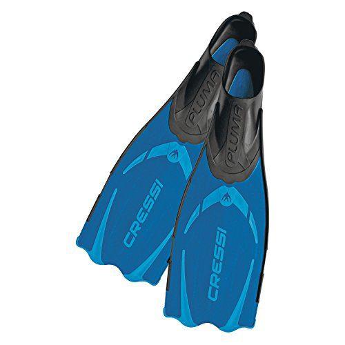 Cressi Adult Snorkeling Full Foot Pocket Fins Pluma
