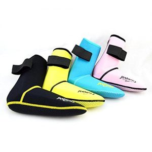 Micnaron Water Shoes Premium Men/Women Hi Top Neoprene Boots 3mm Anti-Slip Diving Boot/Dive Boot/Snorkeling Socks Diver/Scuba Diving Shoes/Snorkel Boots/Water Socks Booties for Surfing,Water Sports