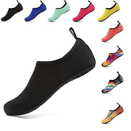 OUYAJI Water Shoes Beach Swim Barefoot Shoes Quick Dry Aqua Socks