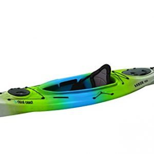 Third Coast Arbor 100 Sit In Recreational Kayak (Citron/Blue/White)