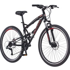 "Schwinn S29 Men's 29"" Wheel Full Suspension Mountain Bike (18""/Medium Frame Size), Black"