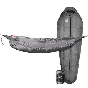 Outdoor Vitals StormLight 15 Degree MummyPod Sleeping Bag for Hammock or Ground Camping