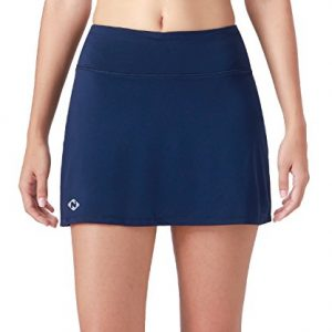 Naviskin Women's Active Athletic Skort Lightweight Skirt With Pockets Inner Shorts Perfect For Running Golf Tennis Workout Casual Use