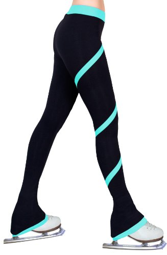 ny2 Sportswear Figure Skating Spiral Polartec Polar Fleece Pants