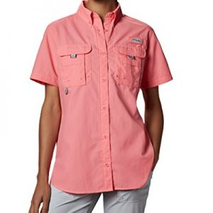 Columbia Women's PFG Bahama II Short Sleeve Breathable Fishing Shirt
