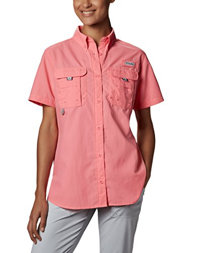 Columbia Women's PFG Bahama II Short Sleeve Breathable Fishing Shirt
