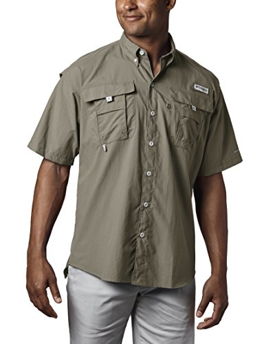 Columbia Men's PFG Bahama II Short Sleeve Breathable Fishing Shirt