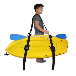 T-best Adjustable Kayak Canoe SUP Stand Up Paddle Loop Surfboard Carrying Strap Belt