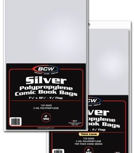 Silver Age Comic Bags and Backer Boards - 100ct