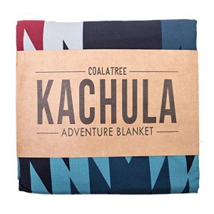 Coalatree Compact Outdoor Adventure Blanket, Pillow, and Emergency Rain Poncho