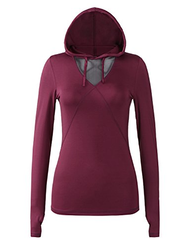 Regna X Re-Order Bother Women's Active Lightweight Full-Zip Hooded Jacket (28 Colors, S-3X)