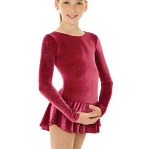 Mondor Born To Skate Glitter Velvet Dress
