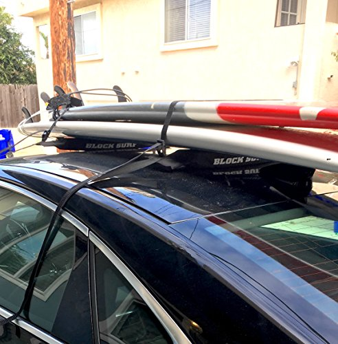 Surf Rack For Car >> Block Surf Surfboard Roof Rack Universal Fit For Cars And Suvs Best
