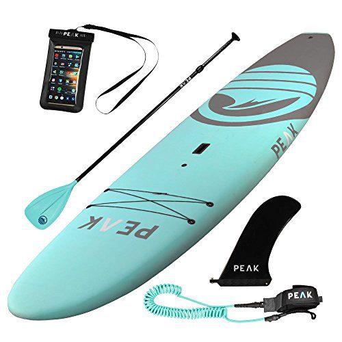 PEAK 10'5 Escape Soft Top Aqua Stand Up Paddle Board