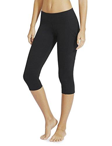 """Baleaf Women's Yoga Workout Capris Leggings Side Pocket for 5.5"""" Mobile Phone"""
