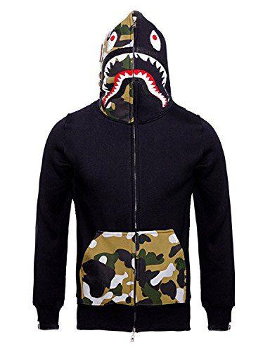 Mens Hoodies Sweatshirt Fashion Casual Coat Outdoor