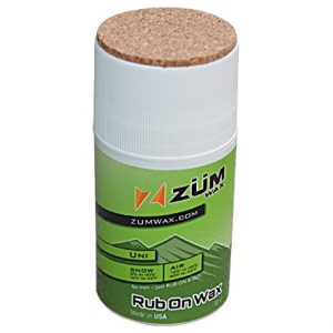 ZUMWax RUB ON WAX Ski/Snowboard