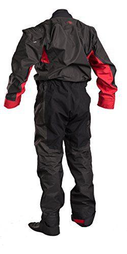 Gul DARTMOUTH Eclip Breathable Drysuit & Undersuit 2018 - Black/Red