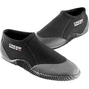 Cressi Short Adult Anti-Slip Sole Boots - Water Sports Basic: Snorkeling, Diving, Rafting, Windsurfing