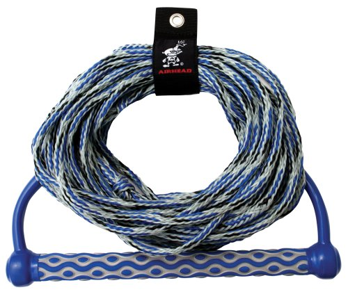 "Airhead Wakeboard Rope, 15"" EVA Handle, 3 section"