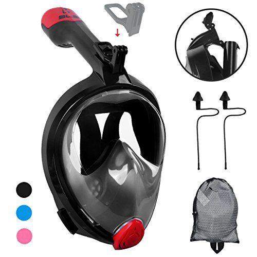 Foldable Anti-fog Snorkeling Mask Full Face
