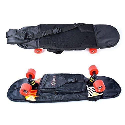 NoRules Skateboard Bag Skateboarding Adjustable Shoulder Bag Backpack for 28 inch to 31.5 inch Skateboard