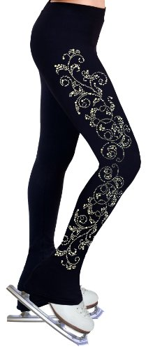 ny2 Sportswear Figure Skating Practice Pants with Rhinestones R52