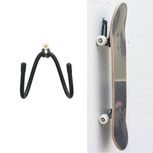 YYST Skateboard Wall Hanger Wall Storage Clip Skateboard Wall Rack Wall Mount - for Skateboard and Longboard