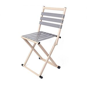 Folding Camping Stool With Backrest, Portable Chair For Hunting Fishing Hiking Gardening And Beach Backpacking Outdoor Seat