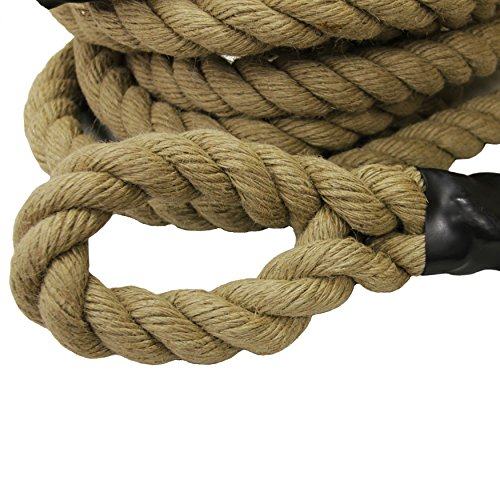 Valor Fitness Sisal Climbing Rope, 25'