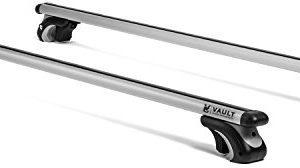 "Roof Rack Crossbars 54"" Universal Locking Crossbars by Vault - Carry Your Canoe, Kayak"