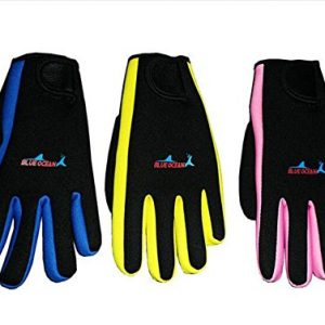 Scuba Premium Neoprene 1.5mm Diving Gloves Five Finger Glove