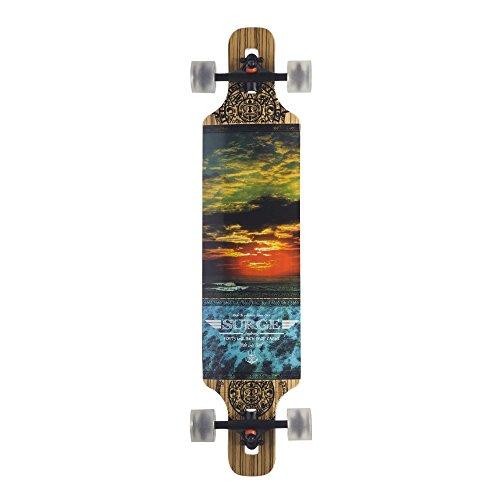 Backfire Drop Through Longboard Complete Lightweight 39 8.625inch Professional longboards