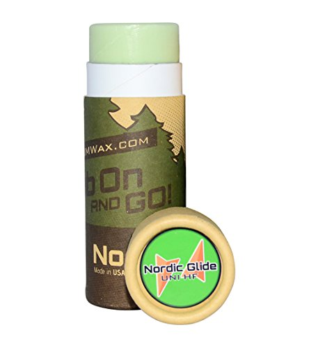 ZUMWax HIGH FLUORO NORDIC/CROSS-COUNTRY RACING GLIDE RUB ON WAX - Universal - ALL Temperatures