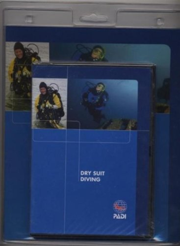 PADI Dry Suit Diving Crew Pack Training Materials for Scuba Divers