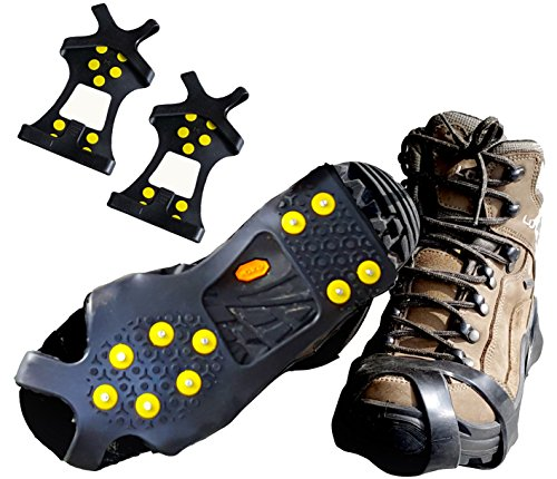 Limm Pro Traction Cleats For Ice and Snow – Quickly And Easily Grips Over Footwear – Portable – Sizes: S/M/L/XL