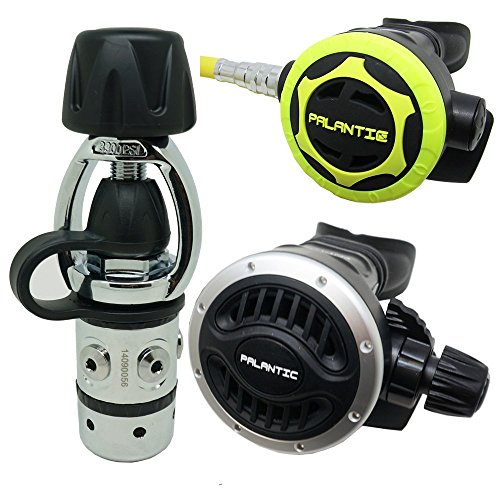 Scuba Diving Dive AS101 Yoke Adjustable Regulator and Octopus Combo