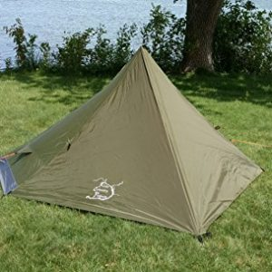 River Country Products One Person Trekking Pole Tent